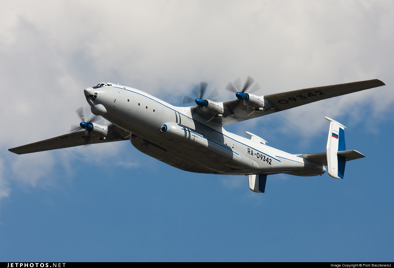 RA-09342 - Antonov An-22A - Russia - Air Force
