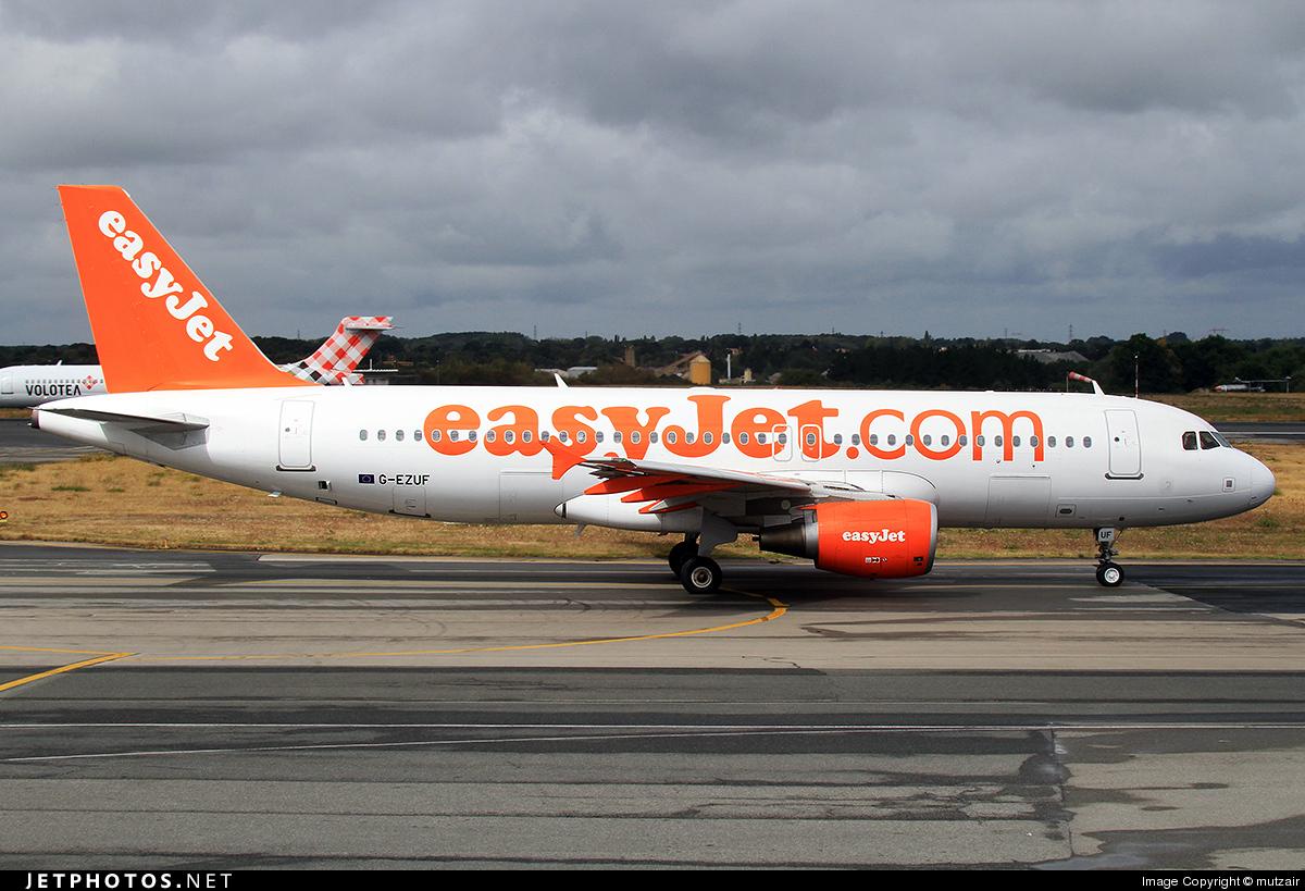 G-EZUF - Airbus A320-214 - easyJet