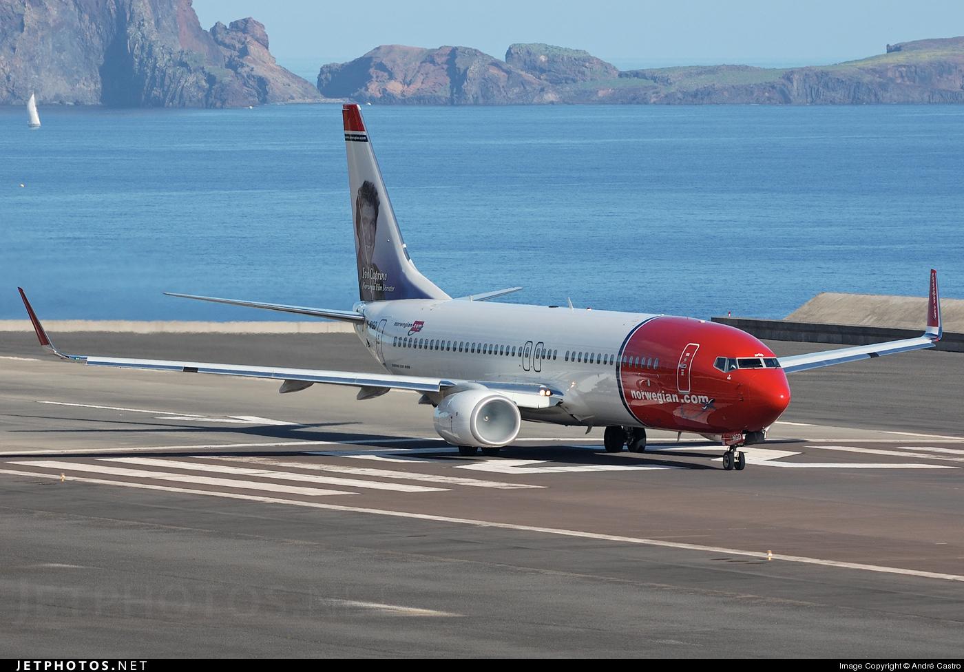 LN-NGD - Boeing 737-8JP - Norwegian