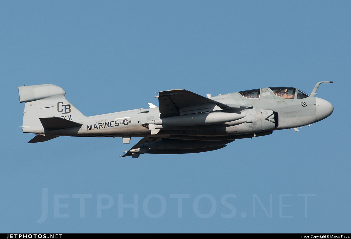 163031 - Grumman EA-6B Prowler - United States - US Marine Corps (USMC)