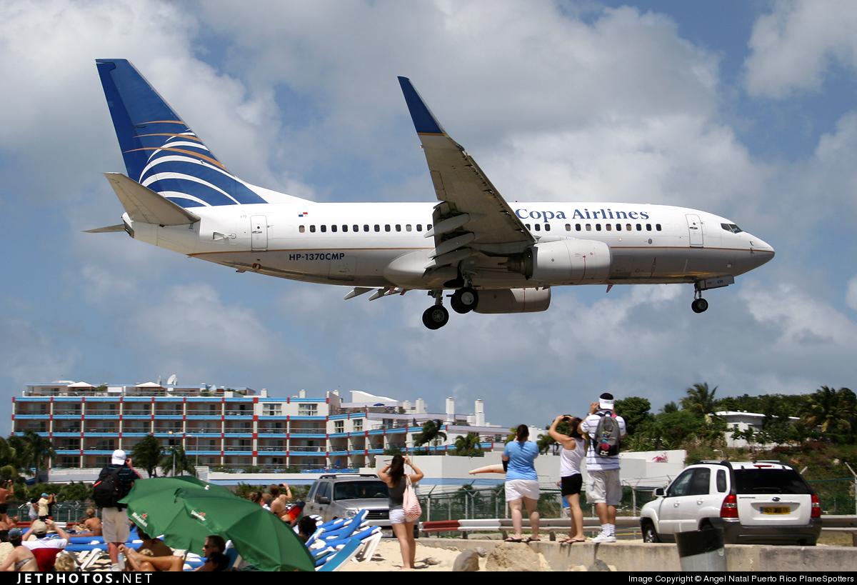 HP-1370CMP - Boeing 737-71Q - Copa Airlines