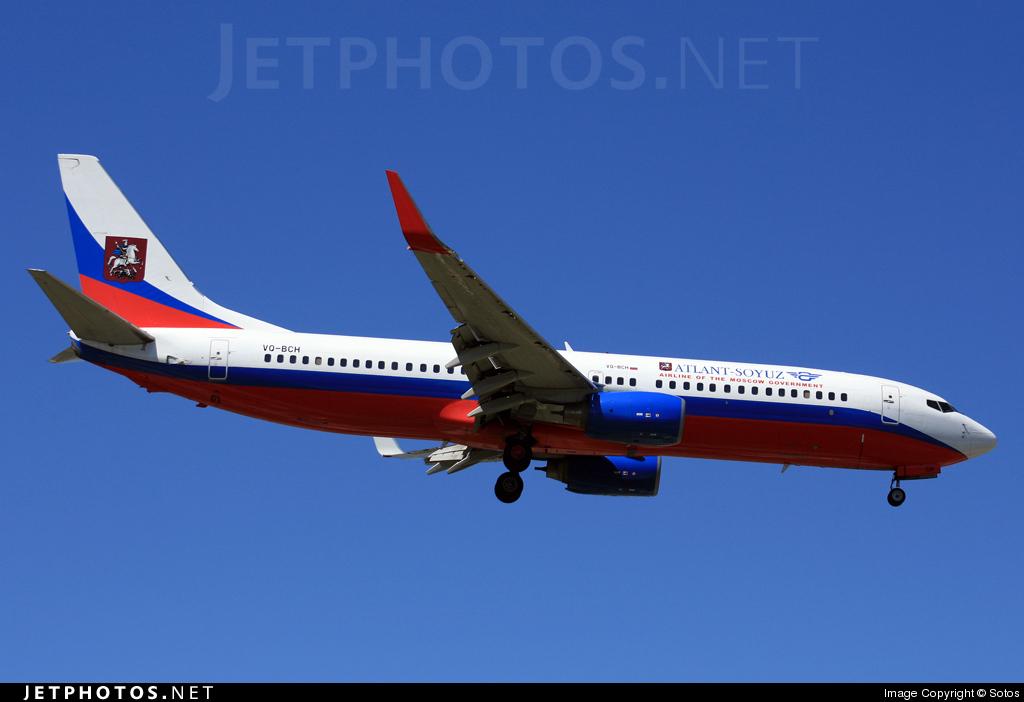 VQ-BCH - Boeing 737-8AS - Atlant-Soyuz Airlines