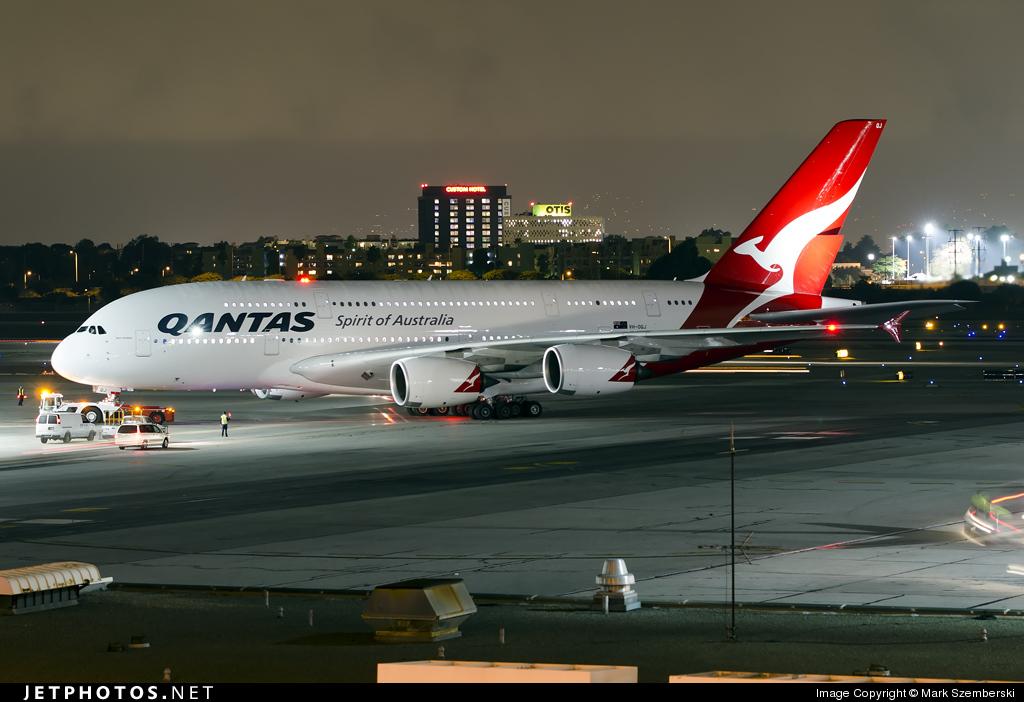 VH-OQJ - Airbus A380-842 - Qantas
