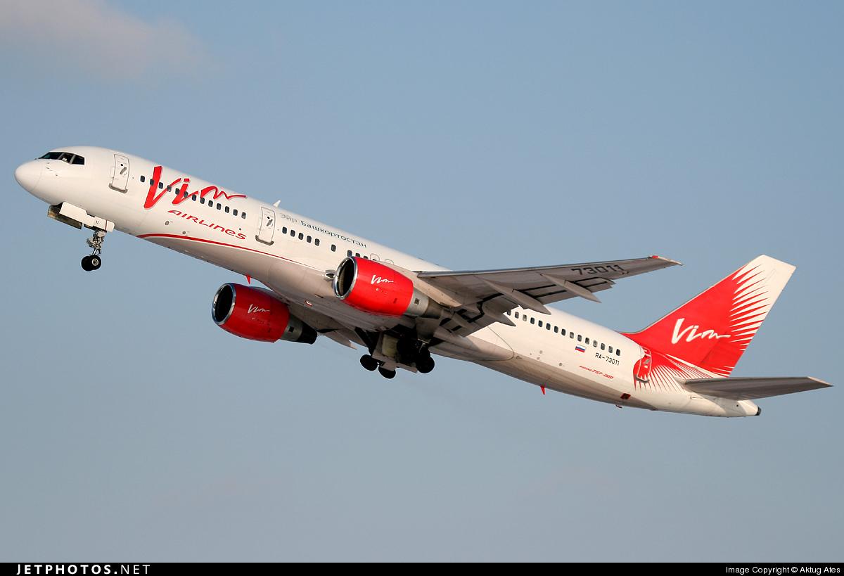 RA-73011 - Boeing 757-230 - Air Bashkortostan (VIM Airlines)