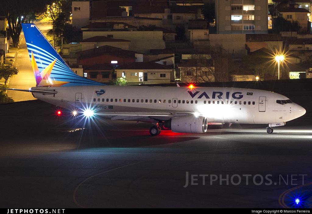 PR-VBQ - Boeing 737-76N - Varig