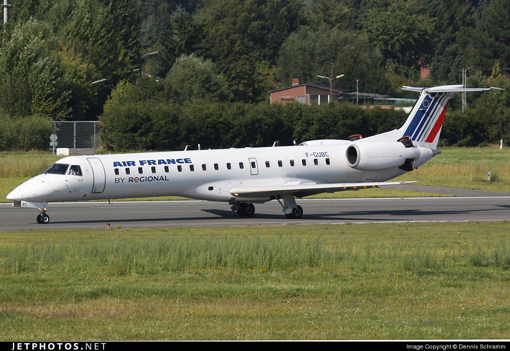 F-GUBC - Embraer ERJ-145MP - Air France (Régional Compagnie Aerienne)