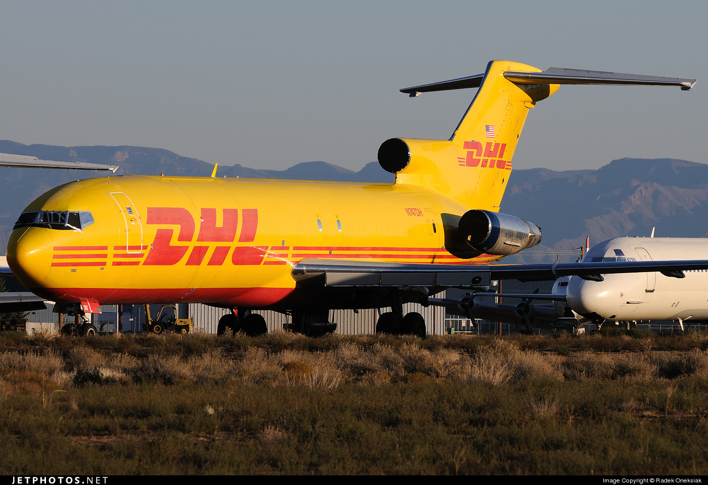 N747DH - Boeing 727-224(Adv)(F) - DHL (ASTAR Air Cargo)