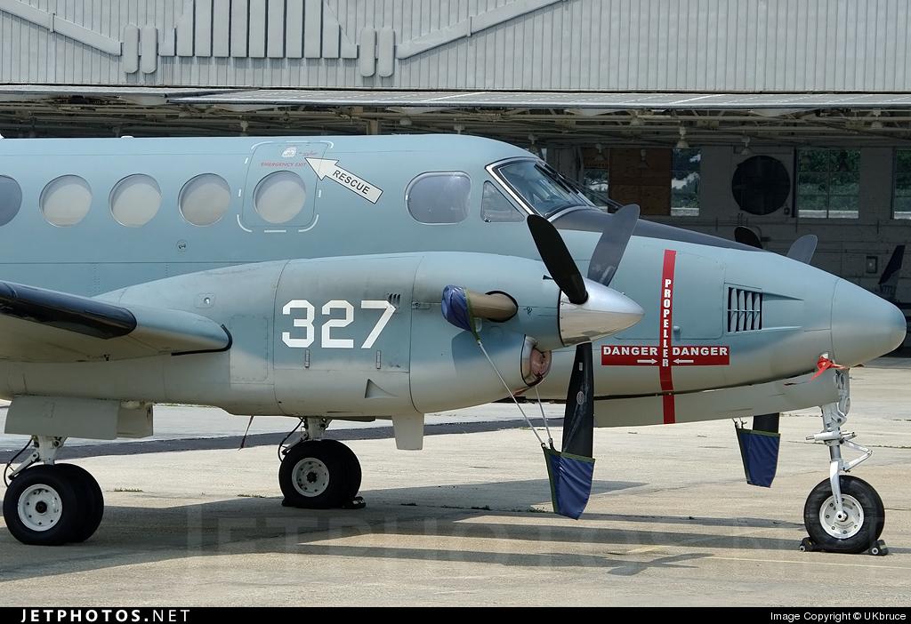 161197 - Beechcraft TC-12B Huron - United States - US Navy (USN)