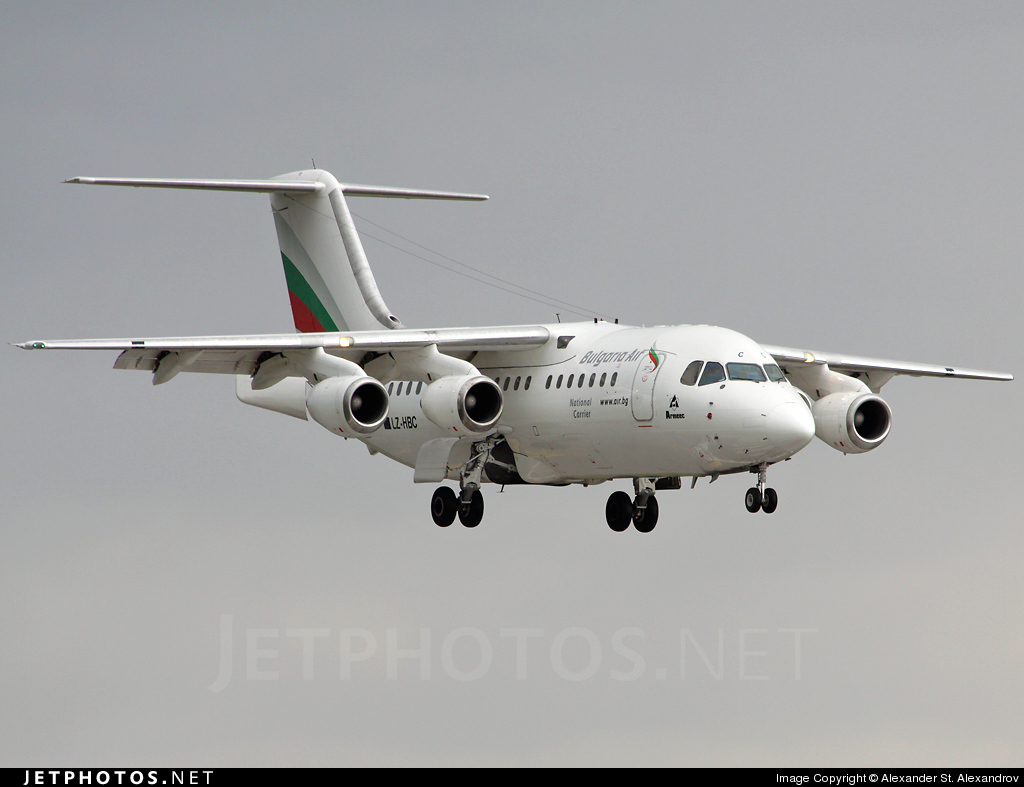 LZ-HBC | British Aerospace BAe 146-200 | Bulgaria Air