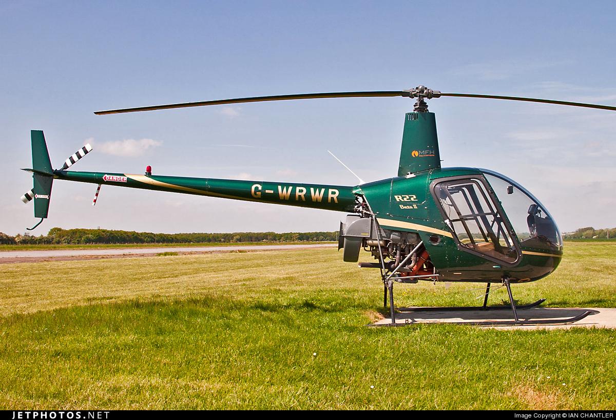 G-WRWR - Robinson R22 Beta II - Private