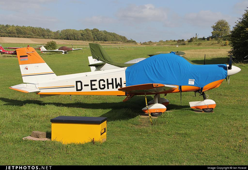 D-EGHW - Bolkow Bo.209 Monsun 150RV - Private