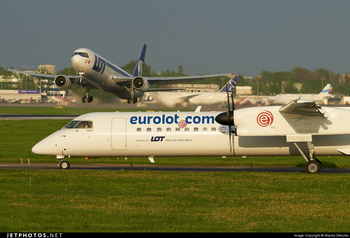 SP-EQD - Bombardier Dash 8-Q402 - EuroLOT