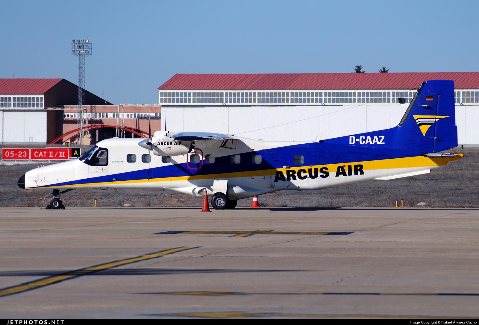 D-CAAZ - Dornier Do-228-212LT - Arcus-Air