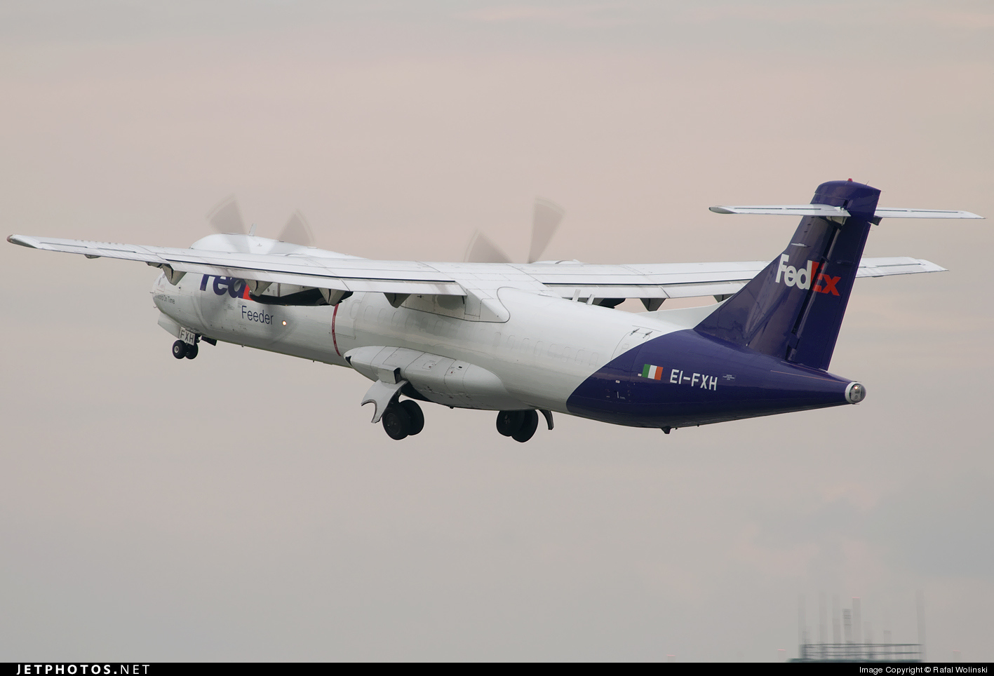 EI-FXH - ATR 72-202(F) - FedEx Feeder (Air Contractors)