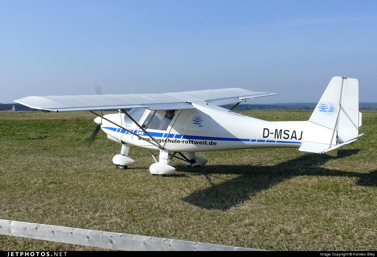 D-MSAJ - Ikarus C-42 - Flugschule Rottweil