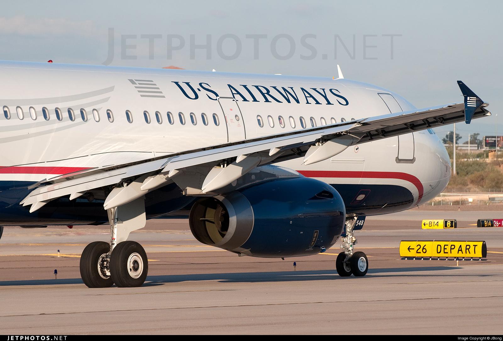 N548UW - Airbus A321-231 - US Airways