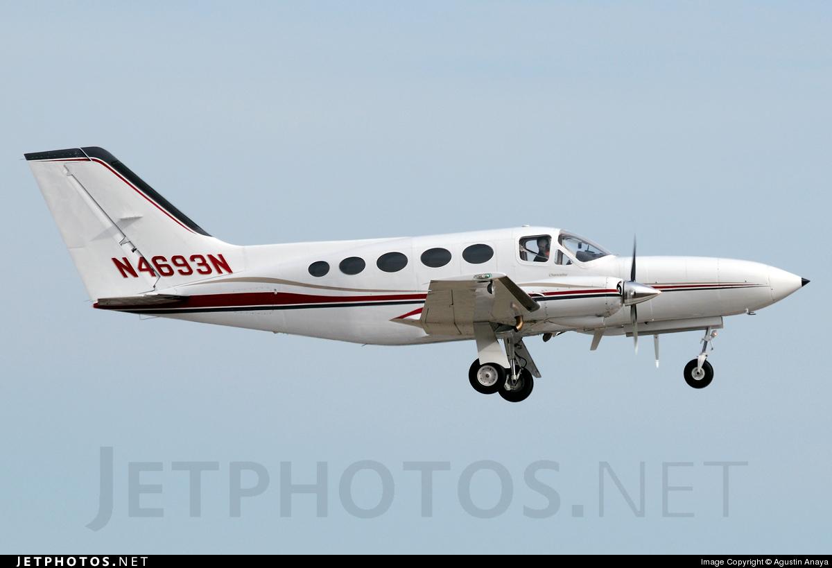 N4693N - Cessna 414A Chancellor - Private