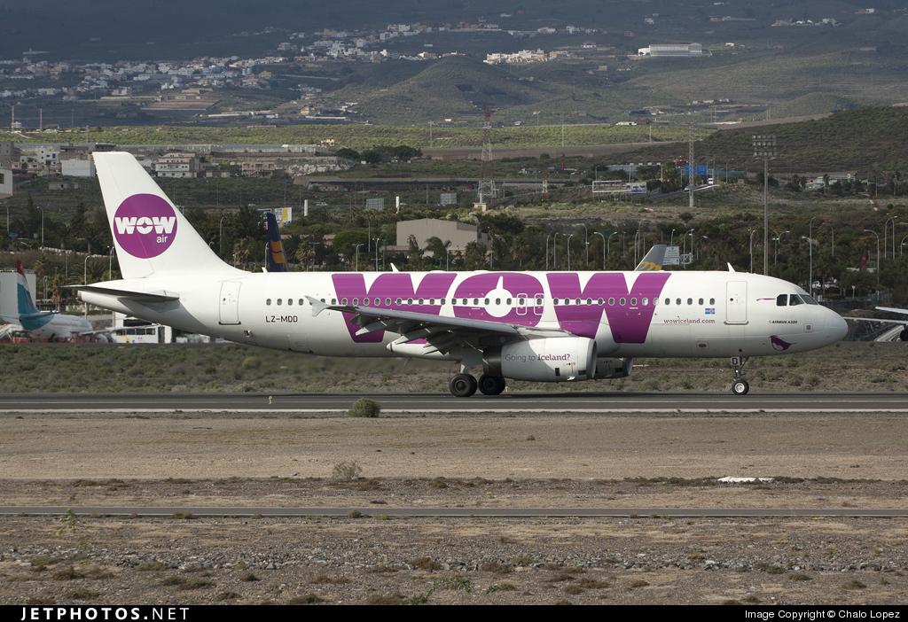 LZ-MDD - Airbus A320-232 - WOW Air (Air Via)