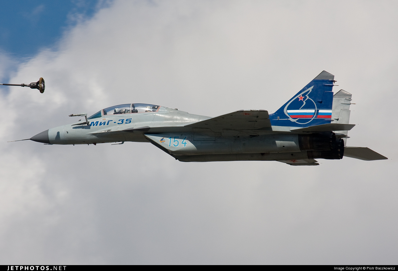 154 - Mikoyan-Gurevich MiG-35UB Fulcrum F - Russia - Air Force