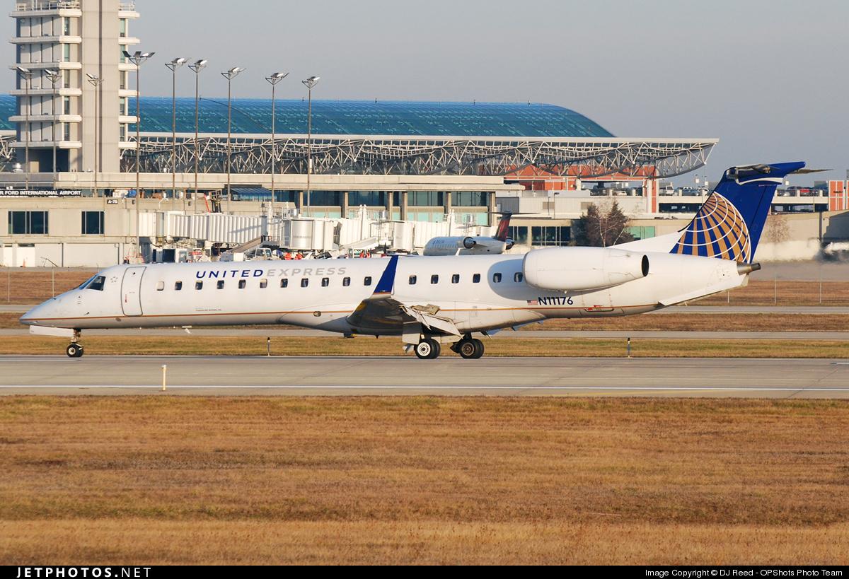 N11176 - Embraer ERJ-145XR - United Express (ExpressJet Airlines)