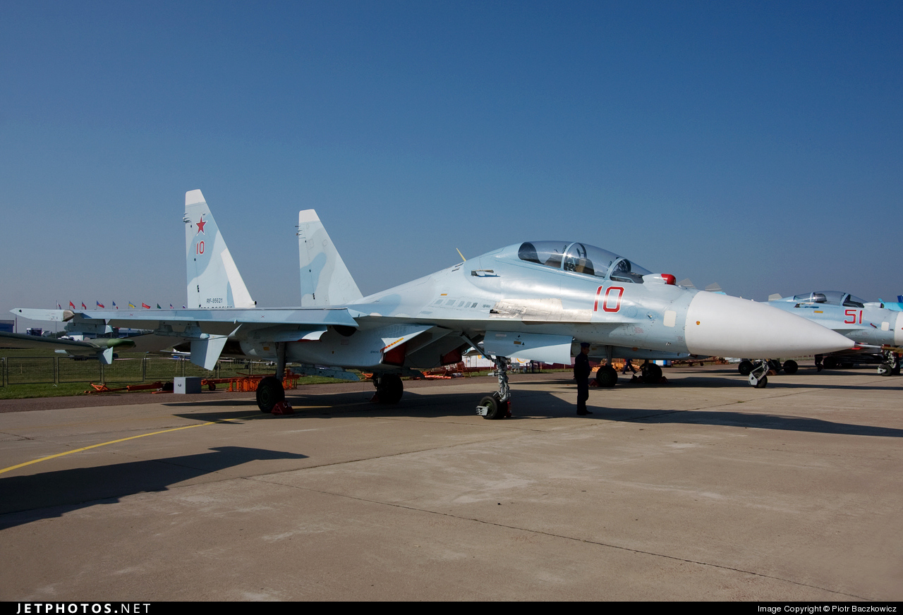 RF-95621 - Sukhoi Su-30MK2 - Russia - Air Force