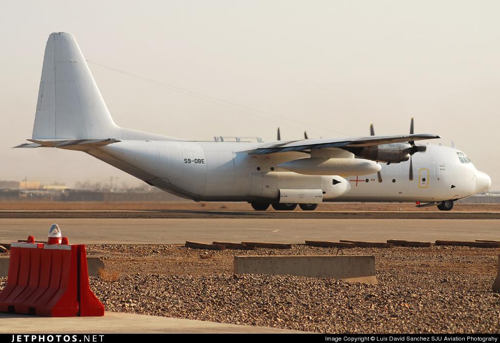 S9-DBE - Lockheed L-100-30 Hercules - Transafrik International