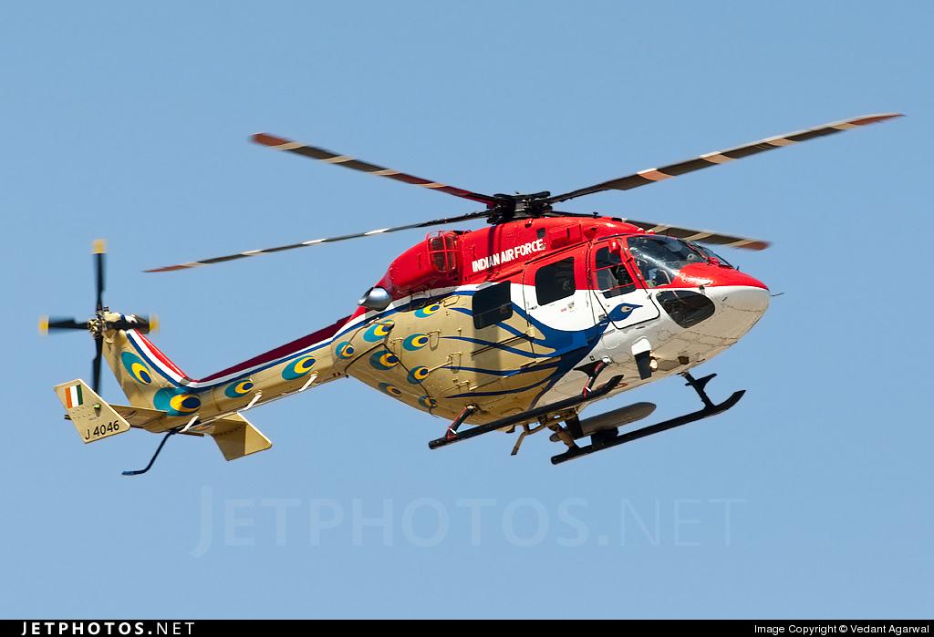 J4046 - Hindustan Aeronautics ALH Dhruv - India - Air Force