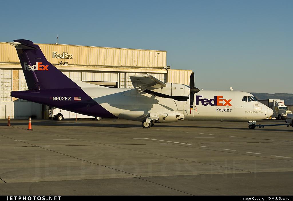 N902FX - ATR 42-320(F) - FedEx Feeder (Empire Airlines)