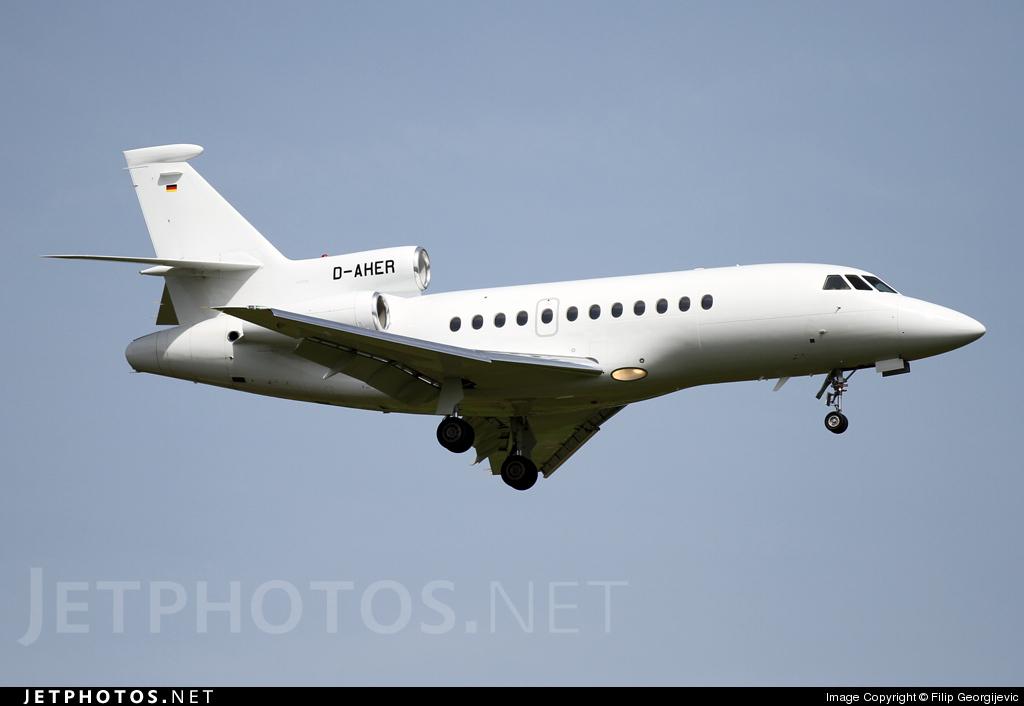 D-AHER - Dassault Falcon 900EX - Private