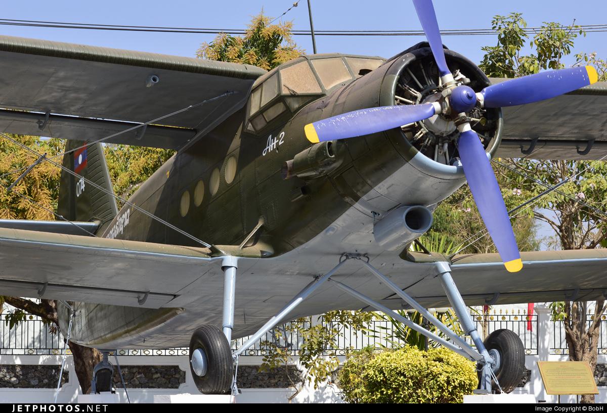 074 - Antonov An-2 - Laos - Air Force