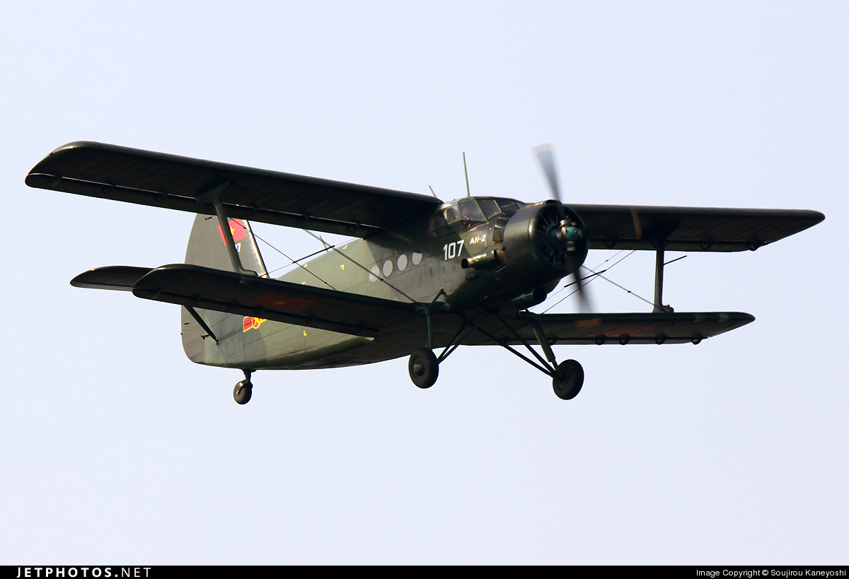 107 - Antonov An-2 - Vietnam - Air Force