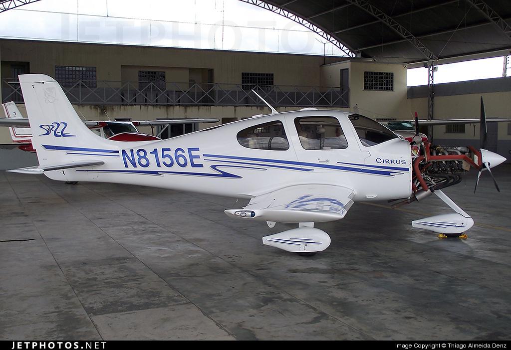 N8156E - Cirrus SR22 - Private