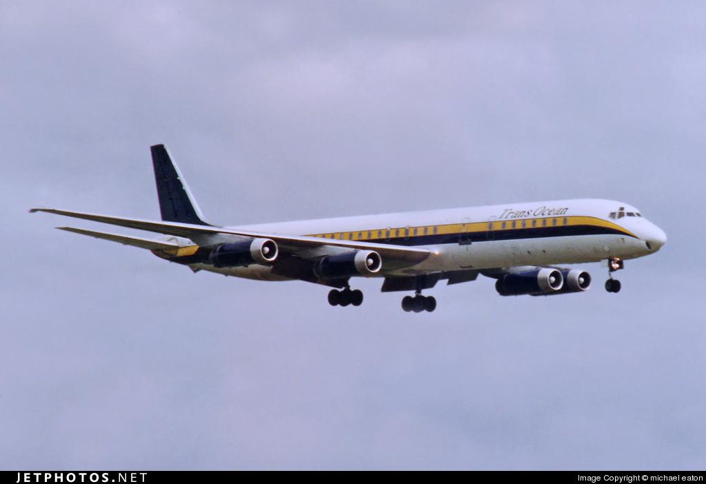 N794AL - Douglas DC-8-63 - Trans Ocean Airways