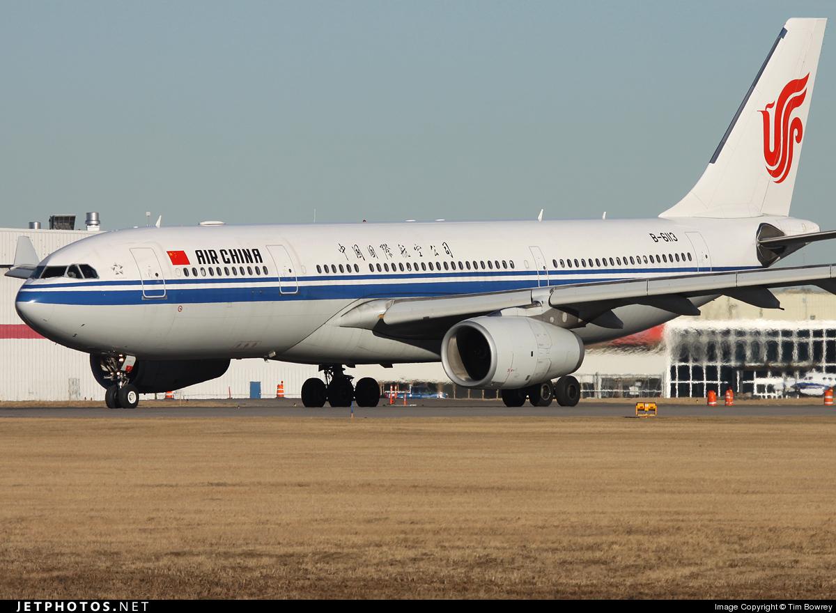 B-6113 - Airbus A330-243 - Air China