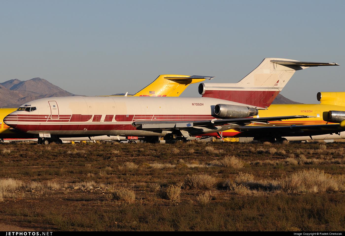 N705DH - Boeing 727-22C - DHL (ASTAR Air Cargo)