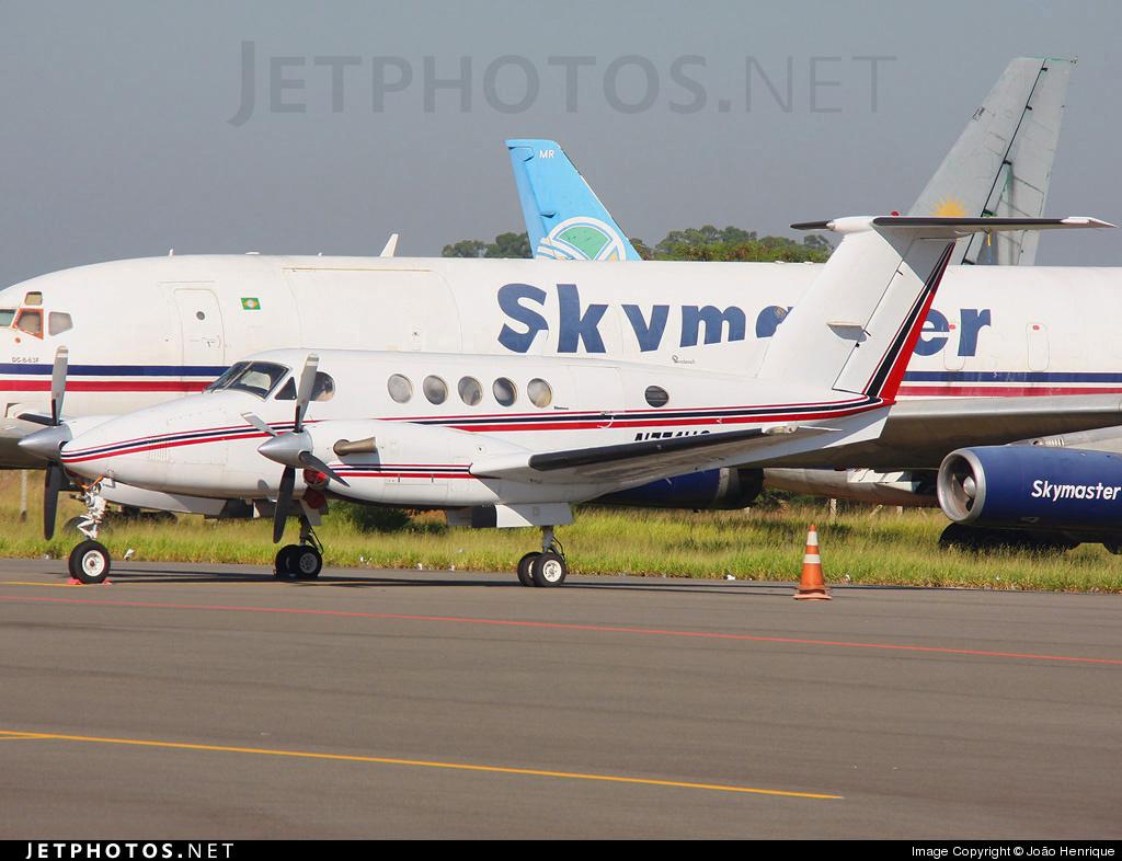 N771HC - Beechcraft 200 Super King Air - Private
