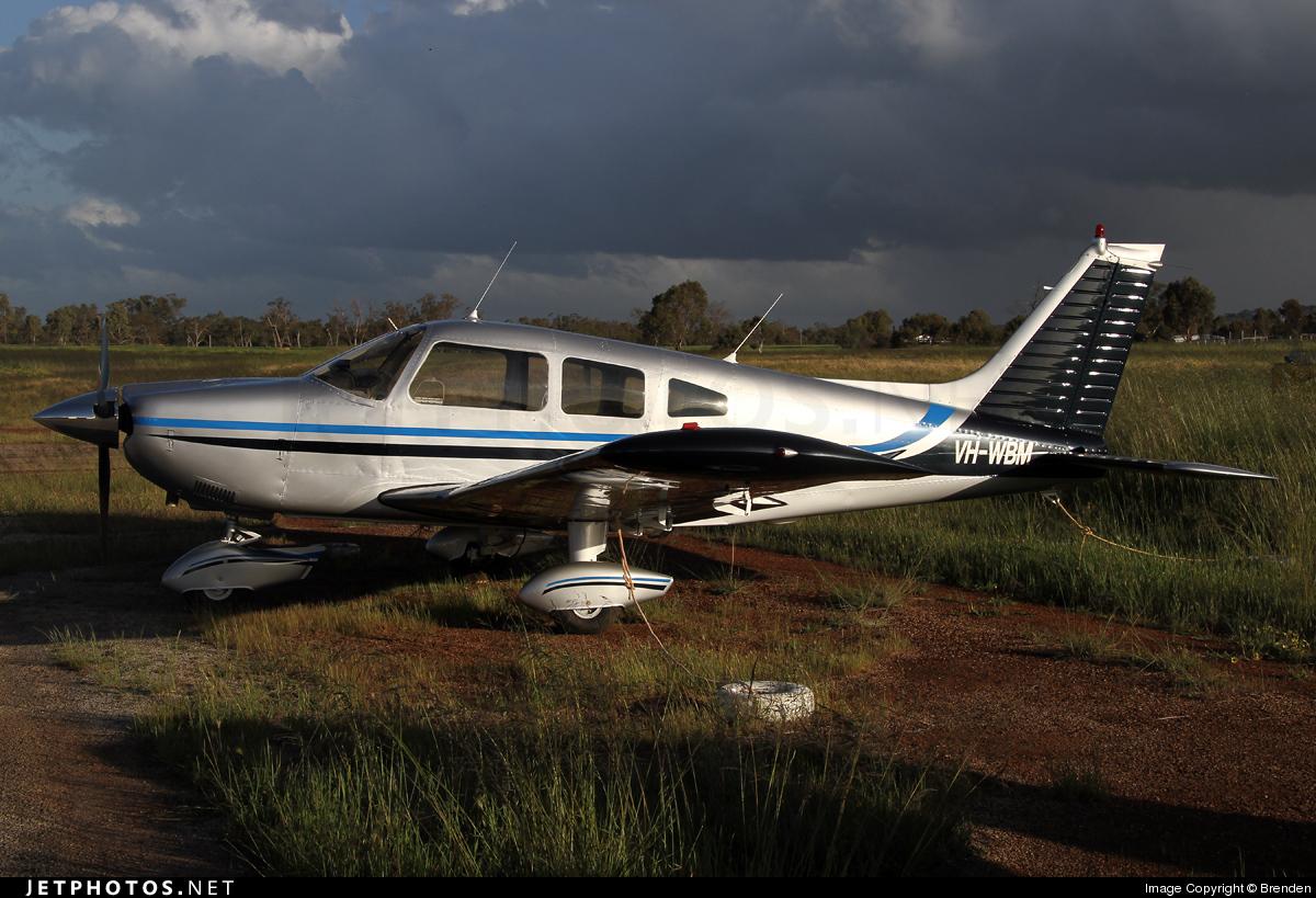 VH-WBM - Piper PA-28-235 Cherokee Pathfinder - Private