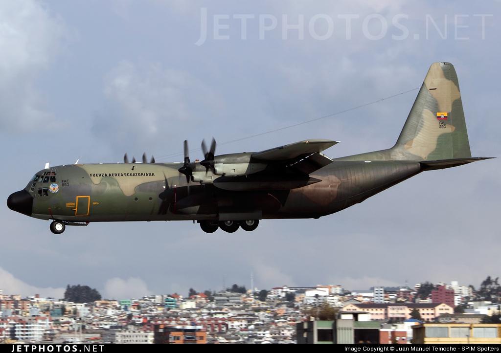 FAE893 - Lockheed L-100-30 Hercules - Ecuador - Air Force