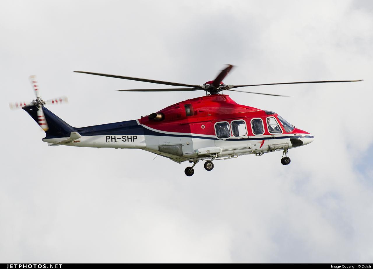 PH-SHP - Agusta-Westland AW-139 - CHC Europe