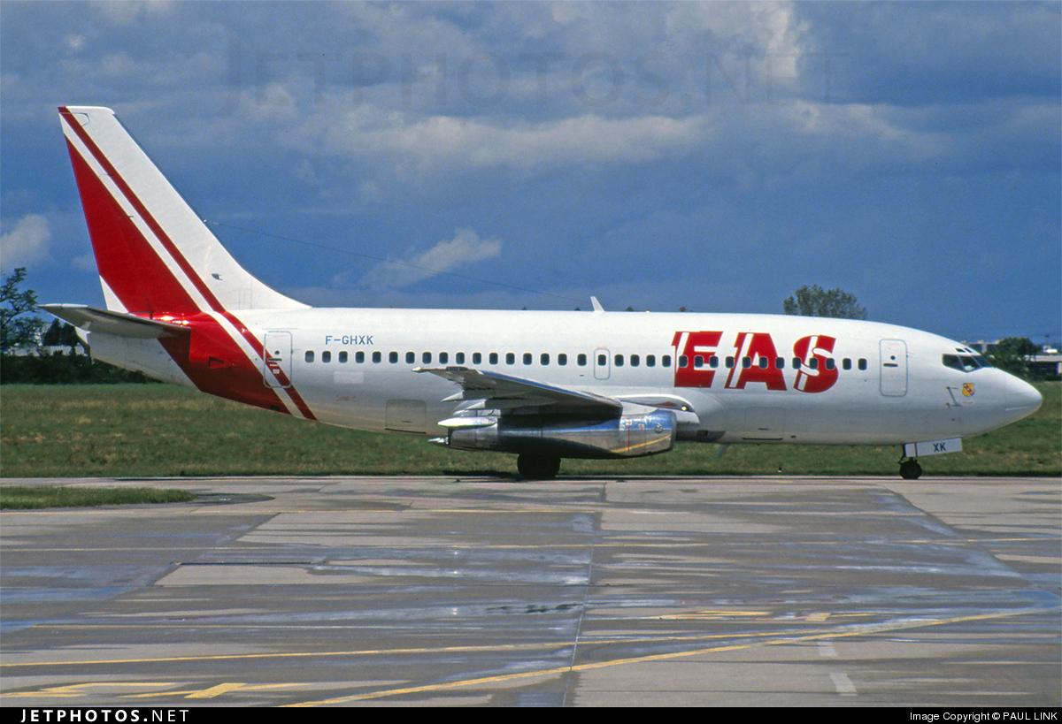 F-GHXK - Boeing 737-2A1(Adv) - Europe Aero Service (EAS)