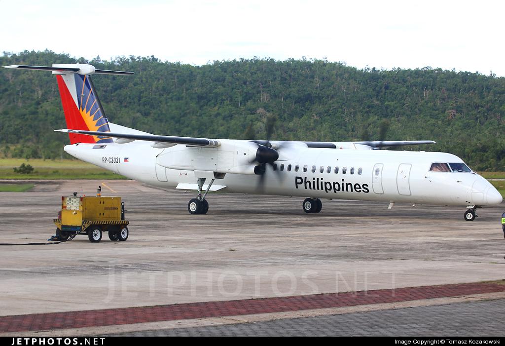 RP-C3031 - Bombardier Dash 8-Q402 - PAL Express