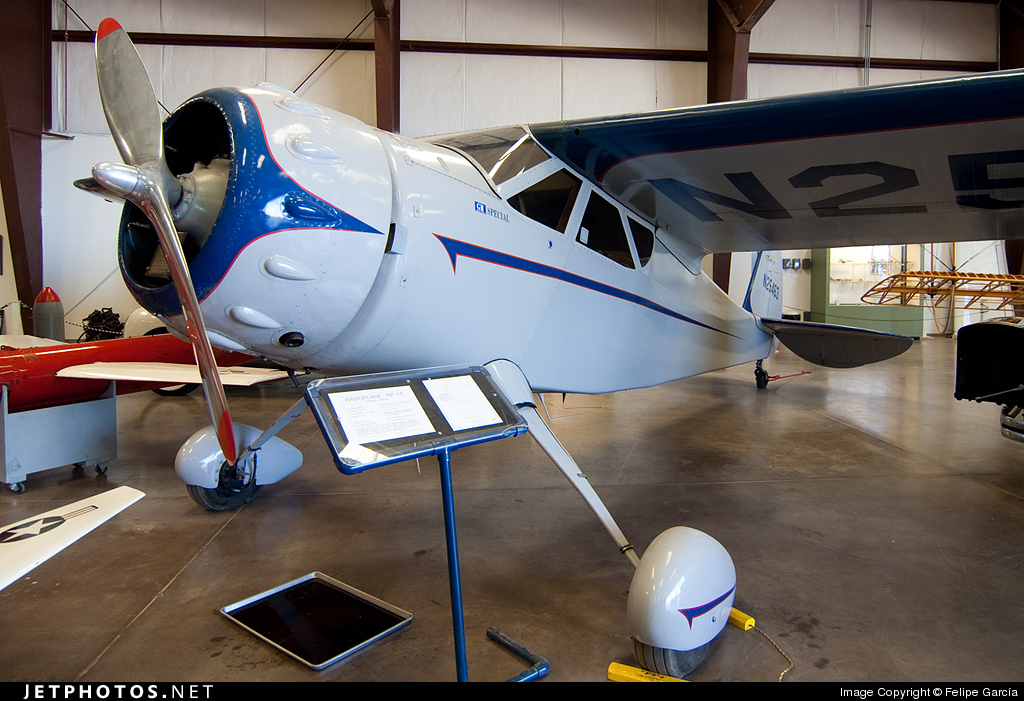 N25463 - Cessna 165 Airmaster - Private