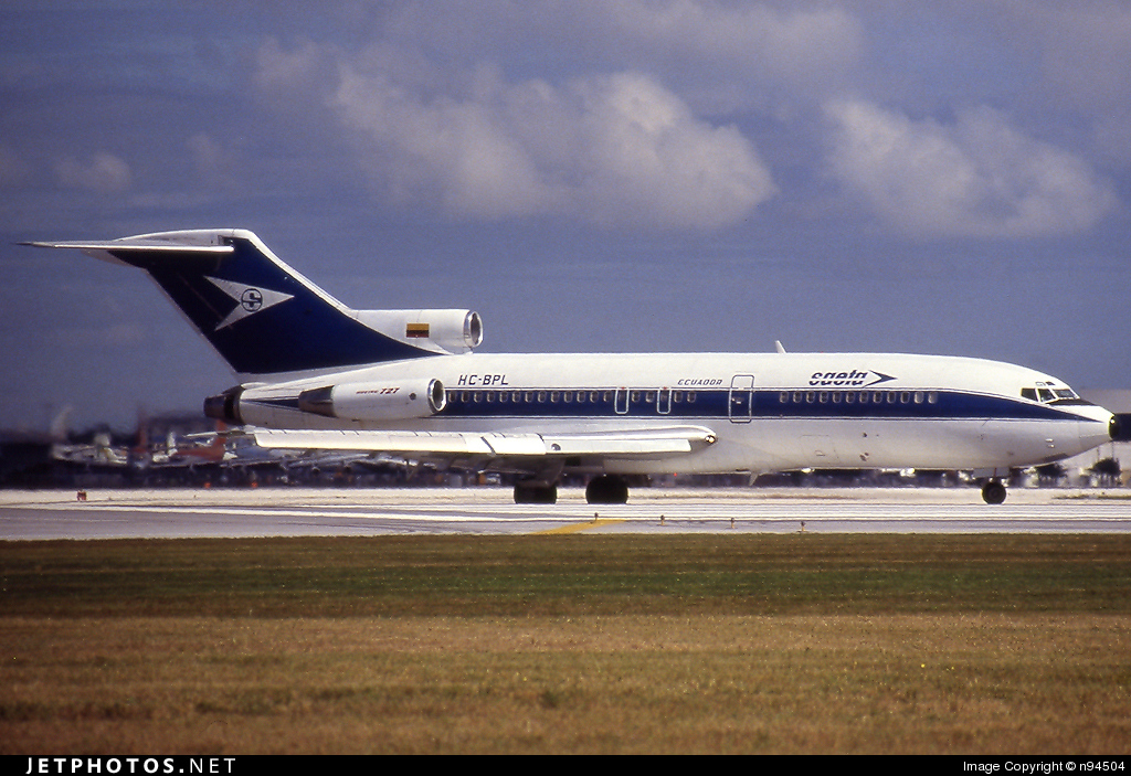HC-BPL - Boeing 727-31 - Saeta Ecuador