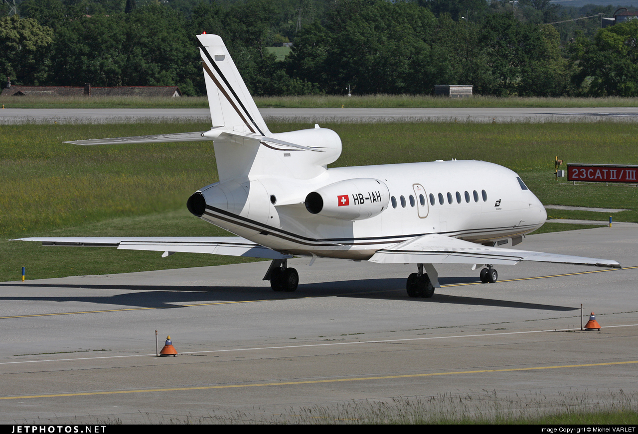 HB-IAH - Dassault Falcon 900EX - Private