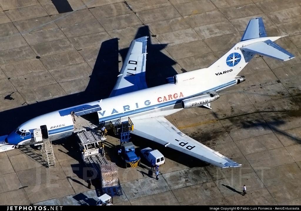PP-VLD - Boeing 727-41(F) - Varig
