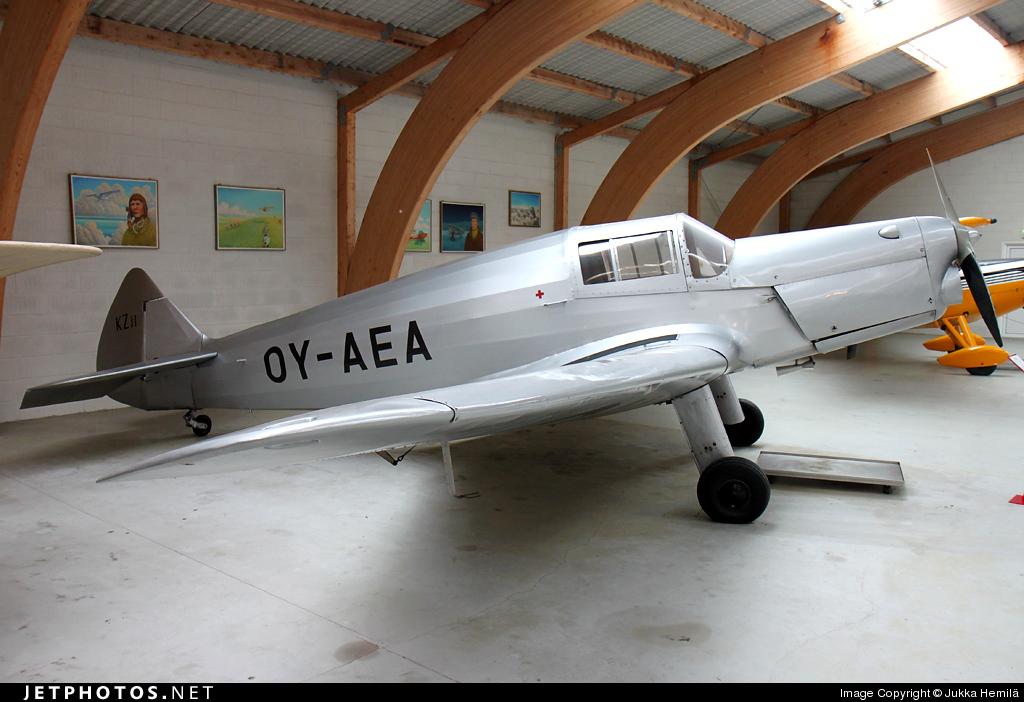 OY-AEA - SAI KZ II Coupe - Private