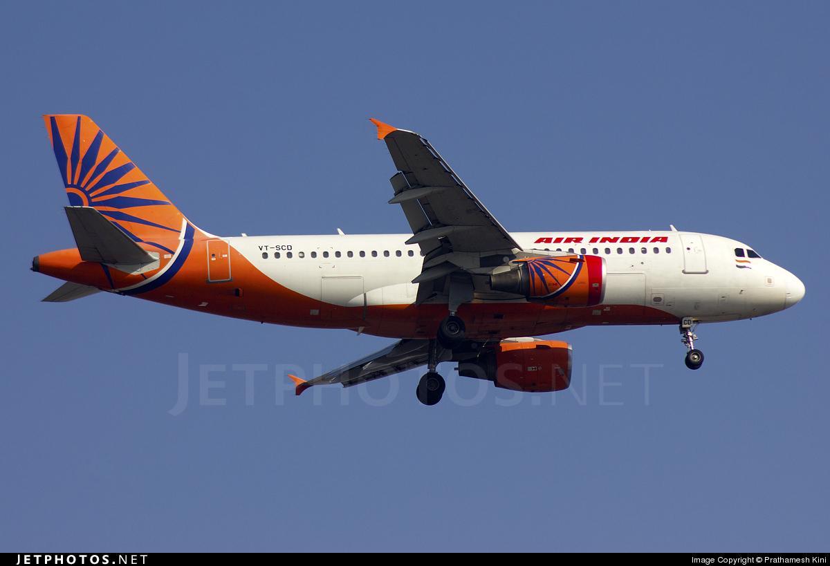 VT-SCD - Airbus A319-112 - Air India