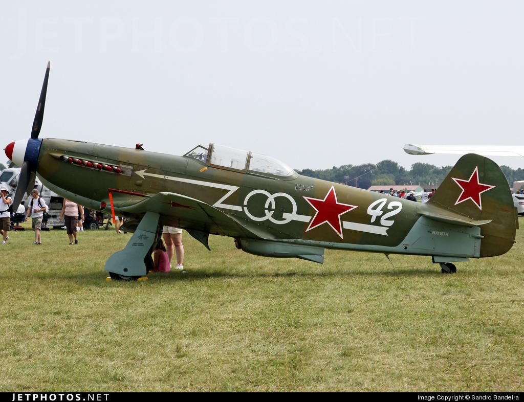 NX1157H - Yakovlev Yak-9U-M - Private