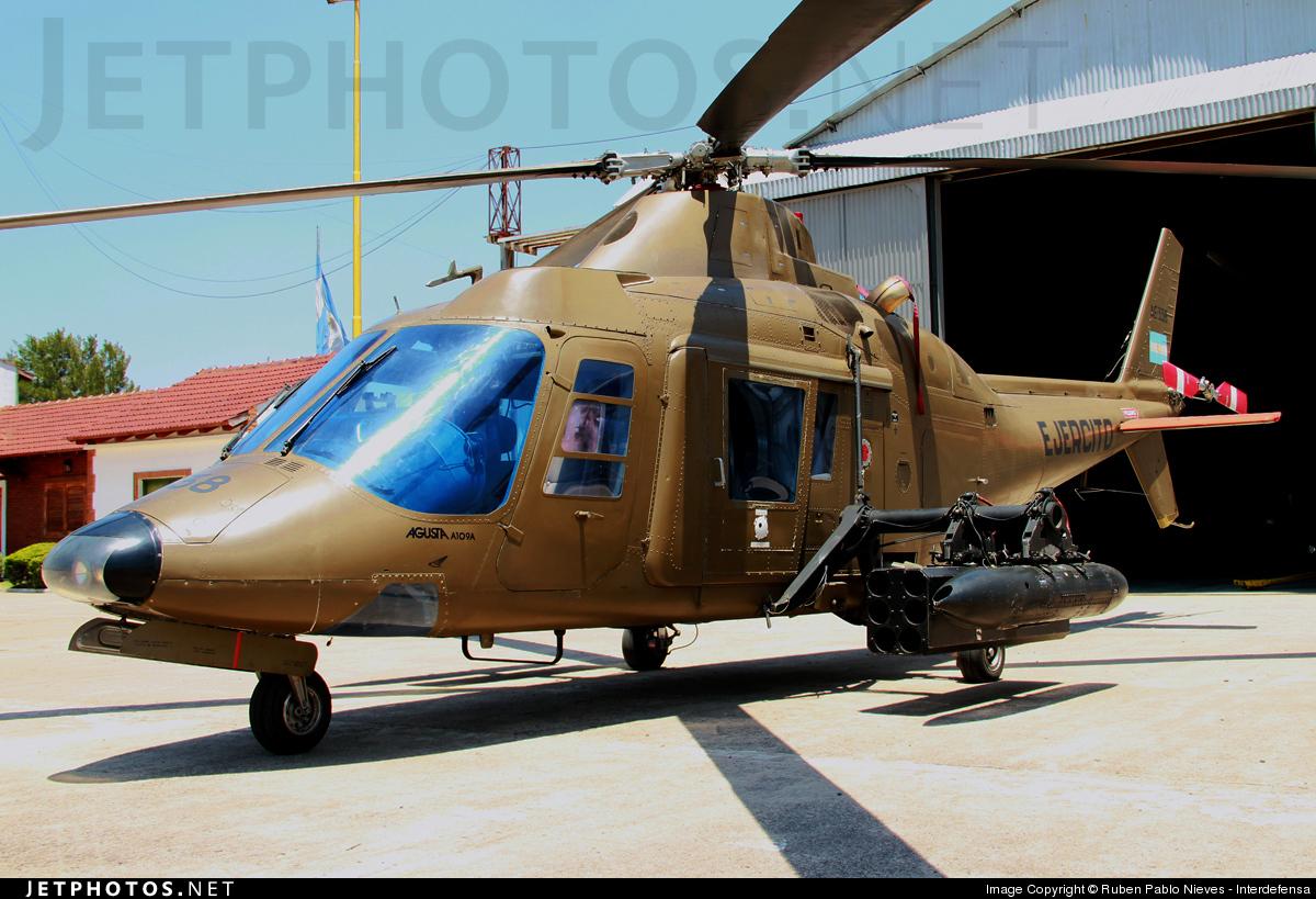 AE-338 - Agusta A109A Hirundo - Argentina - Army
