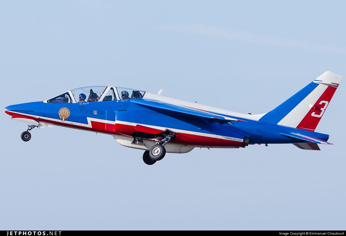 E130 - Dassault-Breguet-Dornier Alpha Jet E - France - Air Force
